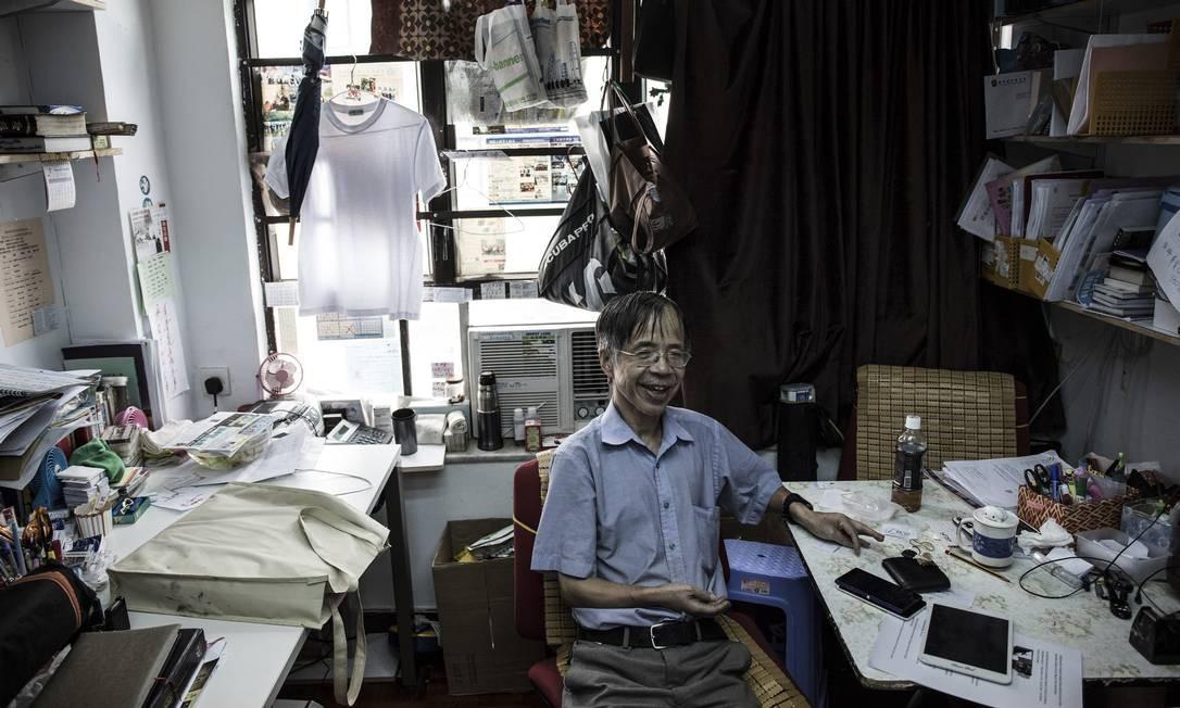Reverendo Philip Woo eme que China esteja piorando questão da liberdade religiosa Foto: LAM YIK FEI / NYT