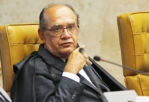 O ministro Gilmar Mendes Foto: Jorge William/11-3-2015 / Agência O Globo
