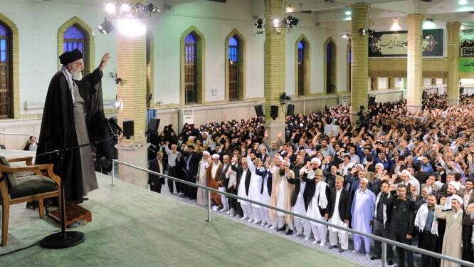 Khamenei ameaçou Israel, que reagiu a declarações Foto: - / AFP