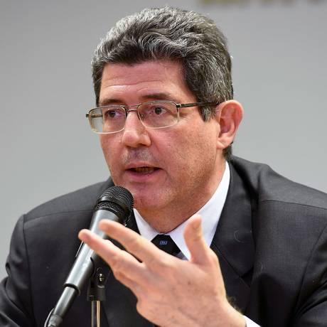 O ministro da Fazenda, Joaquim Levy Foto: Evaristo Sa / AFP