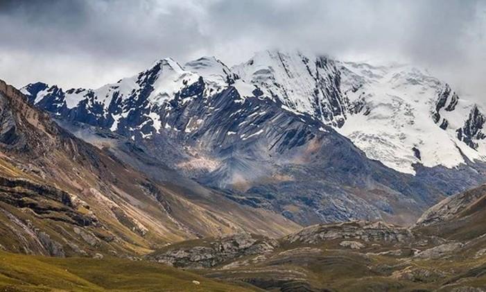 As montanhas de Huaraz, no Peru Foto: @rcpizzino / Instagram