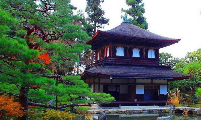 Templo Ginkaku-ji, em Kyoto, Japão Foto: @adri.lage / Instagram