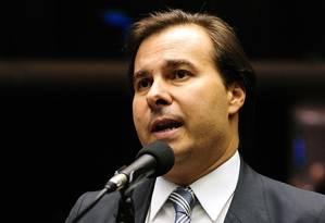 O deputado Rodrigo Maia (DEM-RJ) Foto: Gustavo Lima/Agência Câmara/18-9-2013