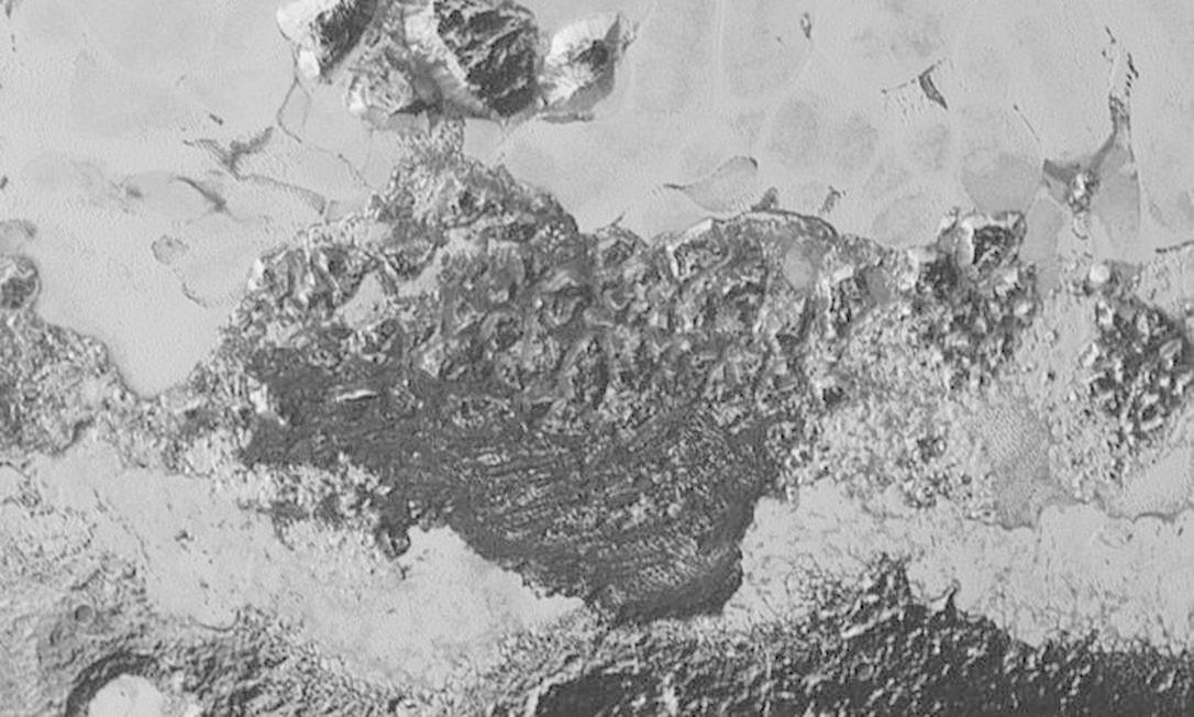 Cientistas acreditam que imagem retrata dunas Foto: Divulgação/Nasa