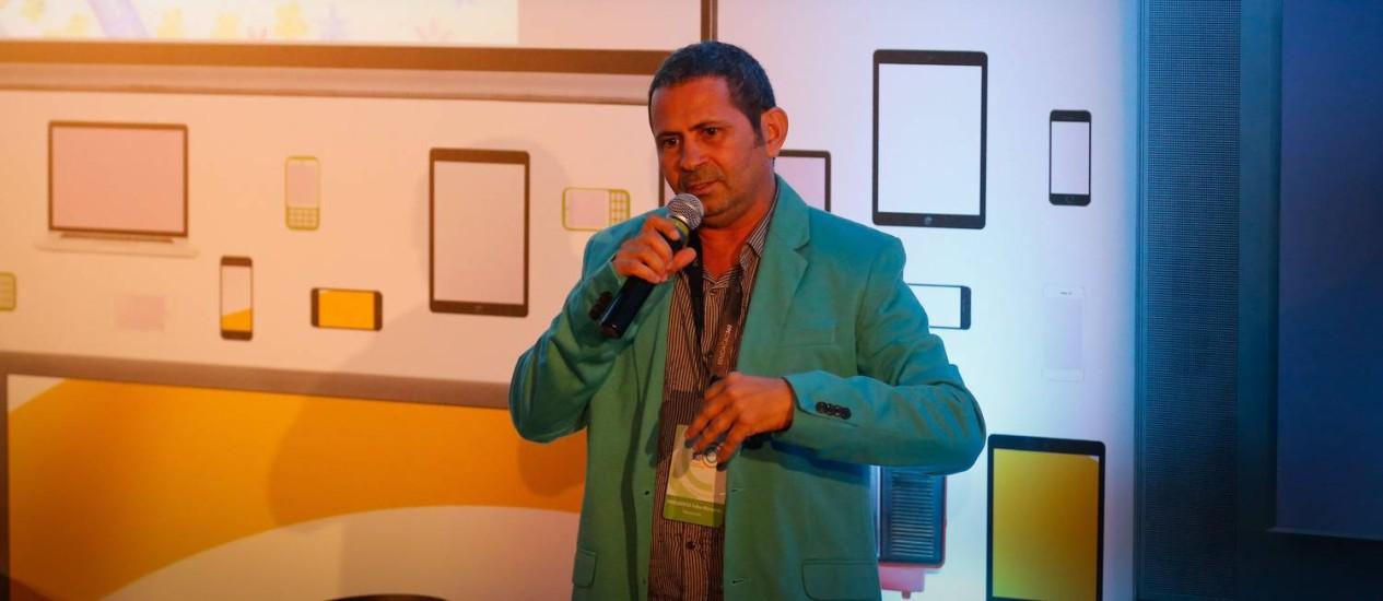 Adalberto Marques, professor do Case-Jaboatão compartilha os resultados positivos das atividades de ressocialização de menores Foto: Pablo Jacob / Pablo Jacob