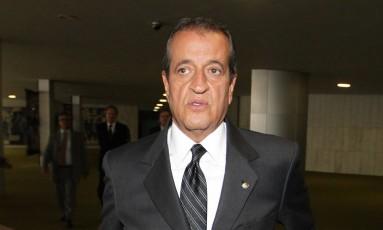 O deputado federal Valdemar Costa Neto (PR-SP) no planário da Câmara dos Deputados Foto: Ailton de Freitas / Agência O Globo