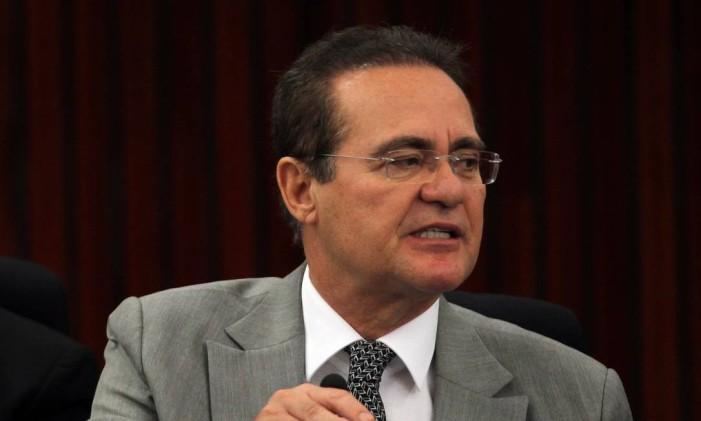 O presidente do Senado, Renan Calheiros (PMDB-AL) Foto: Givaldo Barbosa