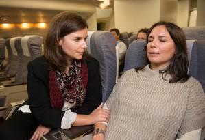Companhias aéreas têm programas para acalmar passageiros com medo de voar Foto: Divulgação / Divulgação