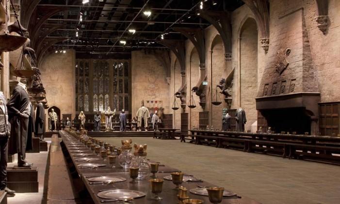 Parte do tour inspirado em Harry Potter nos estúdios Leavesden, em Londres Foto: Pedro Motta Gueiros / Arquivo