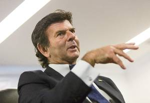 O ministro do Superior Tribunal Federal Luiz Fux Foto: Leo Martins / Agência O Globo