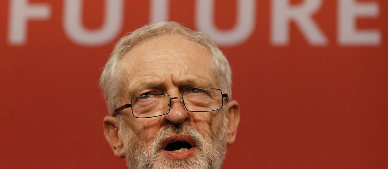 Jeremy Corbyn, novo líder do Partido Trabalhista Foto: Kirsty Wigglesworth / AP