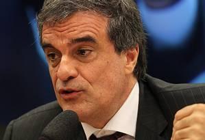O ministro da Justiça, José Eduardo Cardozo Foto: Agência O Globo / Jorge William/9-9-2015