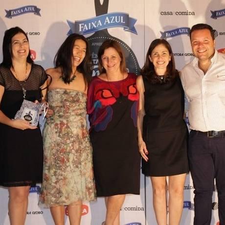 Festa. Jurados e vencedores da edição de 2014 do Receitas de Família Foto: Juliana Farinha / Juliana Farinha / Editora Globo