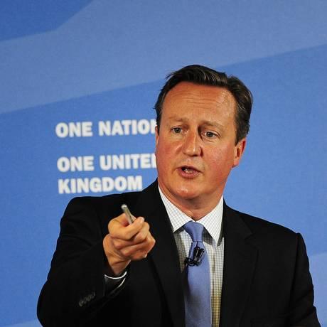 Partido de Cameron começou campanha de descrédito de Corbyn depois ele ter sido eleito Foto: POOL / REUTERS