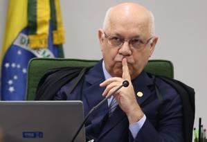 O ministro do Supremo Tribunal Federal, Teori Zavascki Foto: André Coelho / 10-02-2015 / Agencia O Globo