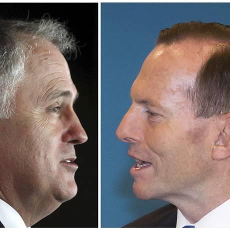 Malcolm Turnbull recebeu 54 votos contra 44 de Tony Abbott em votação do PL Foto: STAFF / REUTERS