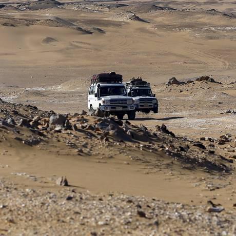 Forças egípcias atacaram uma caravana de turistas, que confundiram com um grupo de terroristas Foto: AMR ABDALLAH DALSH / REUTERS