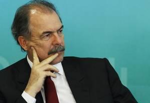 Ministro chefe da Casa Civil, Aloísio Mercadante Foto: Jorge William / Agência O Globo