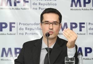 Deltan Martinazzo Dallagnol, Procurador da República Foto: Terceiro / Agência O Globo