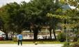 Praça Pimentinha. Relatos de casos de assalto são frequentes