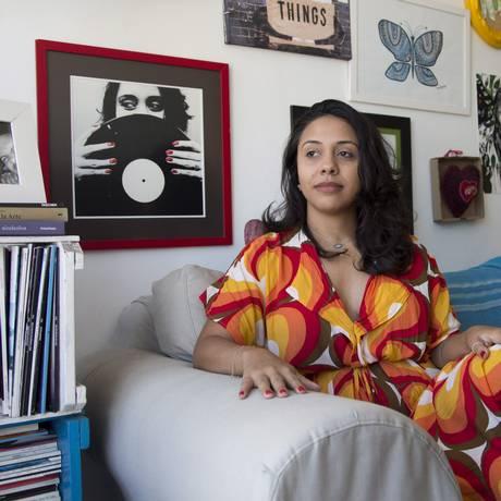 Fabiane Pereira, ex-apresentadora do Faro MPB Foto: Hudson Pontes/Agência O Globo / Agência O Globo
