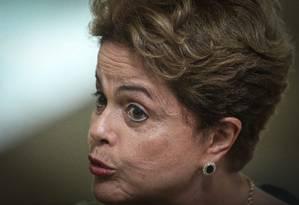 Presidente Dilma Rousseff Foto: André Coelho / Agência O Globo