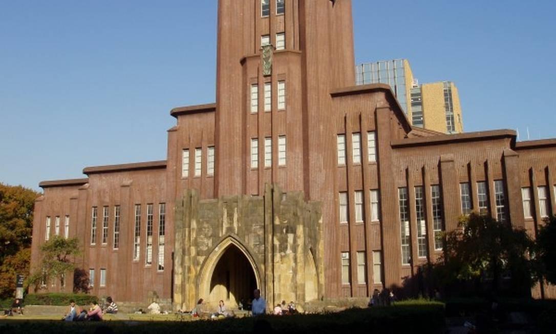 A Universidade de Tóquio informou que não fará cortes Foto: DADEROT/WIKIMEDIA COMMONS