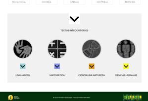 A página do MEC em que o documento foi disponibilizado Foto: Reprodução/Basenacionalcomum.mec.gov.br