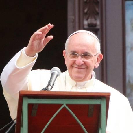 Papa Francisco viaja no sábado para Cuba e, sem seguida, visitará os Estados Unidos Foto: Fabiano Rocha/Agência OGlobo / Agência O Globo