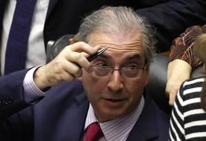 O presidente da Câmara, Eduardo Cunha (PMDB-RJ) Foto: Givaldo Barbosa
