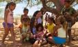 Giulia e as crianças