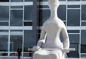 O Supremo Tribunal Federal, em Brasília: em estudo, pesquisadores concluíram que estimular uma área do cérebro pode contribuir para aumentar penas aplicadas Foto: Jorge William