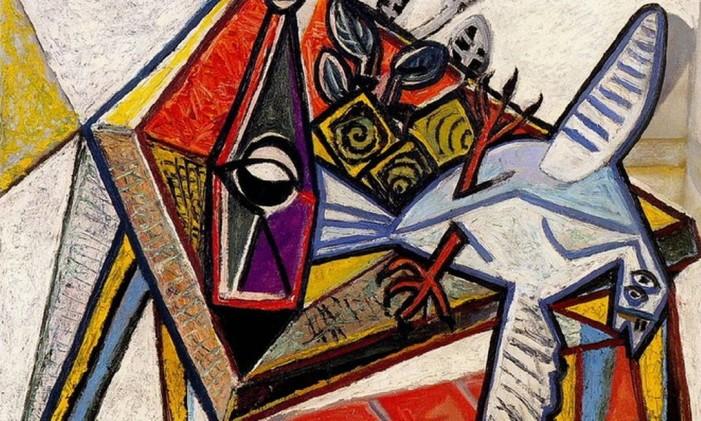 Still Life with pigeon Foto: Reprodução/Picasso