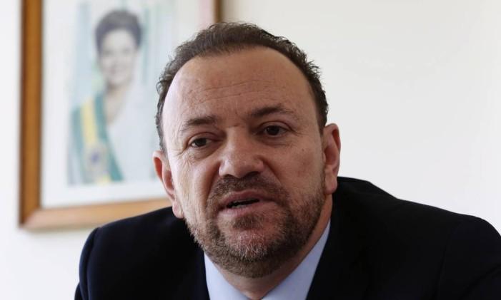 O ministro Edinho Silva Foto: Givaldo Barbosa