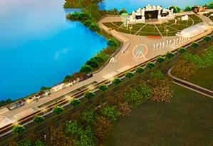 Chama Info Cidade do Rock Foto: Reprodução
