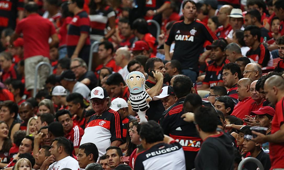 Torcida do Flamengo vai bater recorde de público nesta quinta-feira Jorge William / Agência O Globo