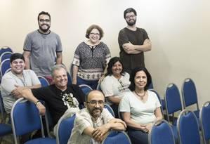 Grupo de evangélicos em reunião do Renas Rio: rede articula igrejas com atuação na promoção e na defesa de direitos Foto: Leo Martins / Agência O Globo