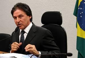 O Senador Eunício Oliveira (PMDB-CE) Foto: Ailton de Freitas