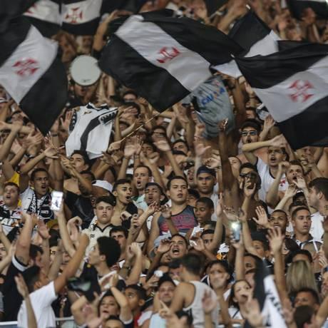 A torcida do Vasco em foto de arquivo Foto: Alexandre Cassiano / O Globo