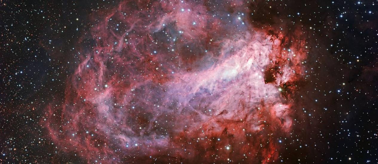 Imagem revela muitos detalhes da paisagem cósmica Foto: ESO