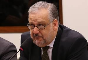 O ministro das Comunicações, Ricardo Berzoini Foto: Ailton de Freitas/19-8-2015