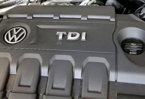 Motor do Volkswagen 2015 Jetta TDI Foto: SHANNON STAPLETON / REUTERS