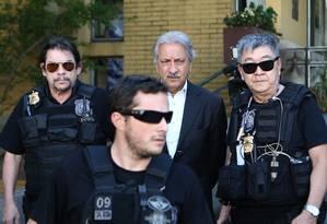 Na 19ª fase, a Lava-Jato prendeu José Antunes Sobrinho, um dos donos da Engevix Foto: Terceiro / Agência O Globo