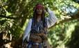 Luiz Pinheiro caracterizado de Jack Sparrow, personagem eternizado por Johnny Depp
