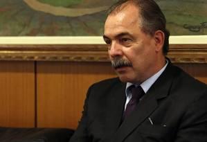 O ministro-chefe da Casa Civil Aloizio Mercadante Foto: Givaldo Barbosa/18-9-2015