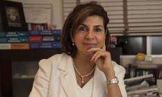 A dermatologista Márcia Senra no seu consultório em Ipanema Foto: Agência O Globo / Hermes de Paula