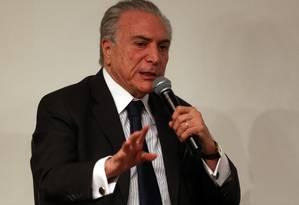 O vice-presidente Michel Temer Foto: ALEX SILVA/Estadão