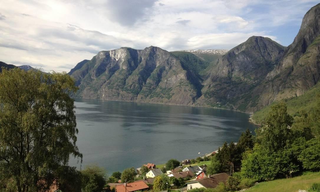 Fiorde. O cenário pelos caminhos de Sognefjord Foto: Fotos de Carolina Mazzi