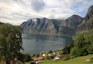 Fiorde. O cenário pelos caminhos de Sognefjord Foto: Marius Fiskumfiskum/Divulgação / Fotos de Carolina Mazzi