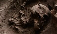 Sepulturas indicam que povos coletores e caçadores realizavam complexos rituais funerários Foto: DIVULGAÇÃO/ANDRÉ STRAUSS